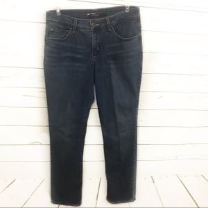 Lee 8 Short Womens Jeans Perfect Fit Straight Leg